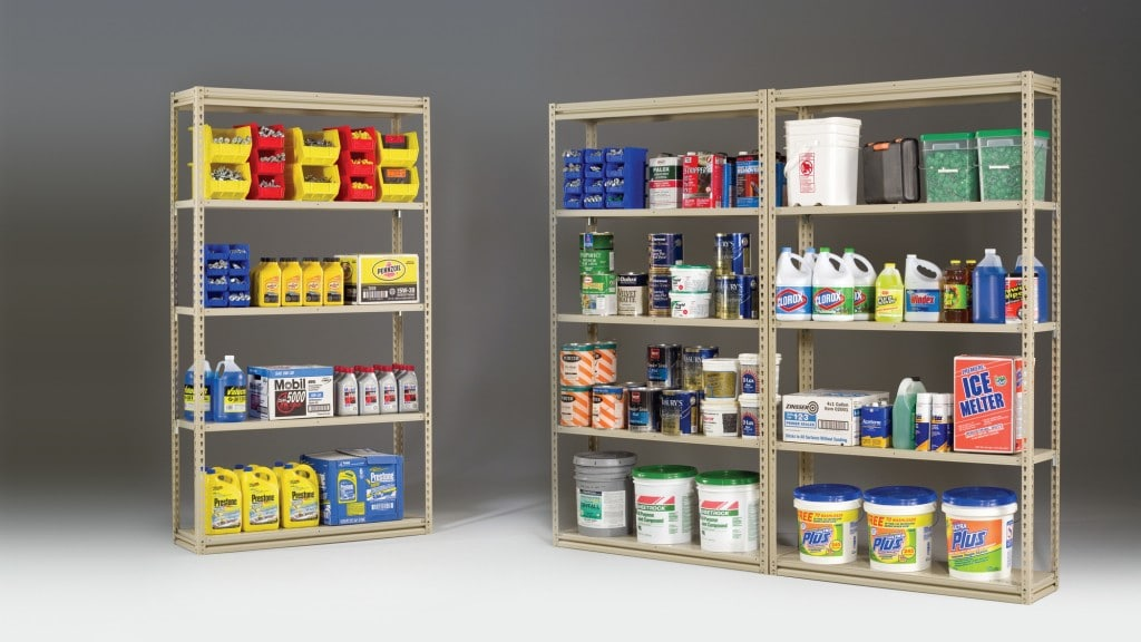 Tensco with Metal Shelving Clips